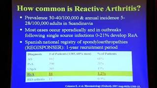Reactive arthritis in 2011: what have we learned?