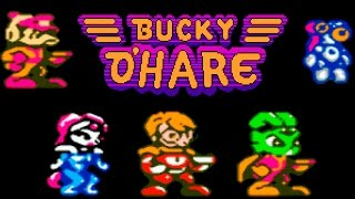 Bucky O'Hare прохождение / Bucky O'Hare walkthrough (NES, Famicom, Dendy)