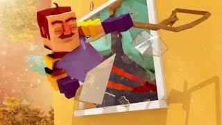 Minecraft - HELLO! IT'S ME... YOUR NEIGHBOR! (Minecraft Hello Neighbor)