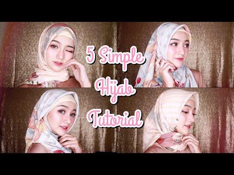 Xxx Mp4 5 Simple Hijab Tutorial Untuk Lebaran Segi Empat 3gp Sex
