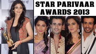 Star Parivaar Awards 2013: RED CARPET