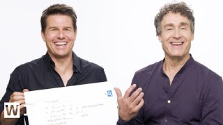 Tom Cruise & Doug Liman Answer the Web