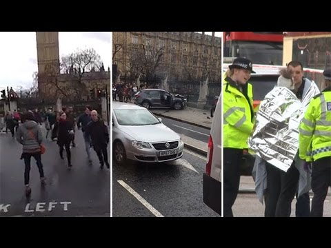 Xxx Mp4 How The Westminster Terror Attack Unfolded On Video 3gp Sex