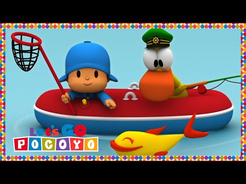 Let s Go Pocoyo Fishing with Pocoyo Episode 52 in HD