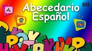 Abecedario en español para niños. Video educativo para niños. Aprender el abecedario