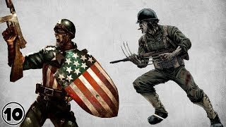 Top 10 Superheroes Who Fought In WW2
