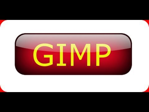GIMP tutorial for beginners Shiny Glossy Button