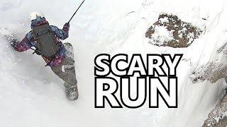 Scary Run Down Corbet