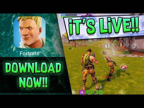 Xxx Mp4 FORTNITE MOBILE Is LIVE DOWNLOAD NOW 3gp Sex