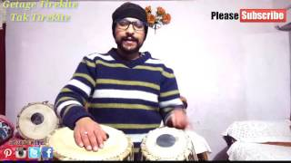Learn To Play Tabla |Fast Kherwa(Fillers)|Tabla Lessons For Beginners |Step By Step Tutorial