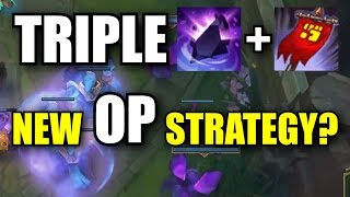 TRIPLE ZZ'ROT AND BANNER OF COMMAND? - League of Legends
