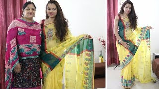 DIY This Is How We Redesign Our Old Plain Saree Into Designer Piece