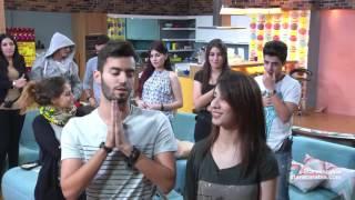 النشيد الوطني الجزائري - تحية من طلاب ستار اكاديمي 11 الى الجزائر