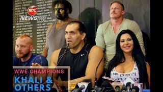 WWE Wrestlers Khali | Katie Forbes | Scarlette | Jayme other WWE Wrestlers Live