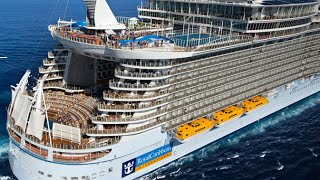 AMAZING: WORLD LARGEST CRUISE SHIP - Allure Of The Seas- Amazing Videos 2015