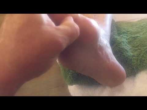 Xxx Mp4 Foot Massage Reflexology For Senior People Brandon Working On Phyllis S Feet Part 2 3gp Sex