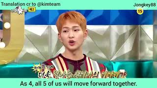 [Eng sub] 180528 SHINee Radio Star Preview (Talk about Jjong)