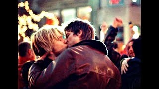 Queer As Folk-Justin Taylor and Brian Kinney
