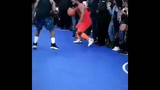 Cassper Nyovest Plays Basket Ball At NBA Africa Game