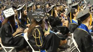 2015 UCLA College Commencement Ceremony I 2pm