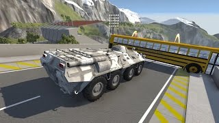 High Speed Crash Compilation 57  - Side Impact - BeamNG.Drive Car Accident