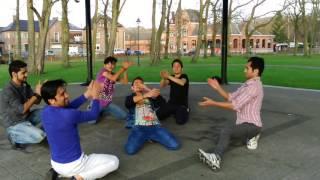 رقص شاد از بچه های بلژیک