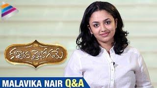 Malavika Nair Exclusive Interview | Q&A | Kalyana Vaibhogame Telugu Movie Special | Telugu Filmnagar