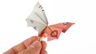 Geldscheine Falten Fur Geldgeschenke Schmetterling Playithub