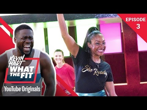 Roller Fitness with Tiffany Haddish Kevin Hart What The Fit Episode 3 Laugh Out Loud Network