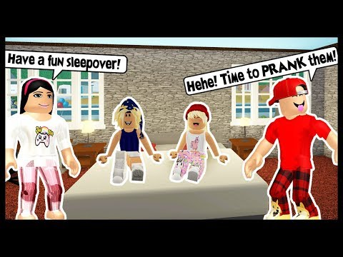 Xxx Mp4 THROWING A SLEEPOVER FOR MY KIDS LETS PRANK THEM Roblox 3gp Sex