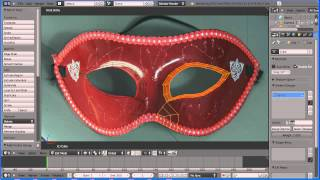 Blender Making a Party Mask Part 1 Making the Topology Using Face Loops