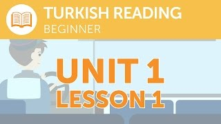 Turkish Reading for Beginners - What Does that Turkish Signal Say?