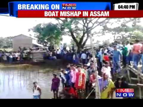 Boat with 200 onboard capsizes in Assam