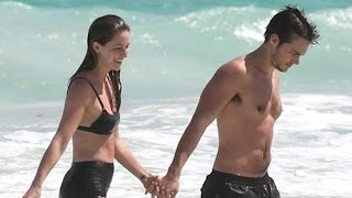'Supergirl' Stars Melissa Benoist and Chris Wood Share a Sweet Kiss During Tropical Vacation!