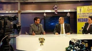 Abg. Damián Armijos Álvarez y Abg. Cristian Mora Naula en RTU sobre la Mediación