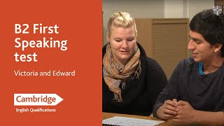 Cambridge English: First (from 2015), Victoria and Edward