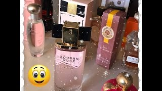Mes Parfums du moment ...