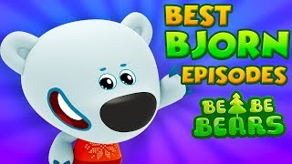 BE BE BEARS | Best Bjorn episodes compilation | HD Cartoons for kids | Kedoo ToonsTV