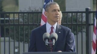 President Obama marks 9/11 attacks 12th anniversary