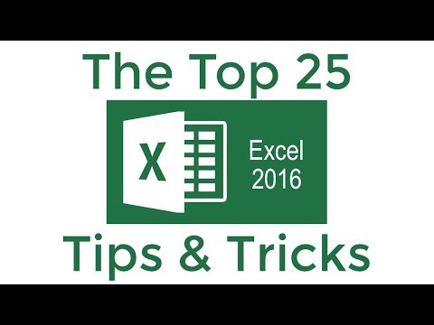 Xxx Mp4 Top 25 Excel 2016 Tips And Tricks 3gp Sex