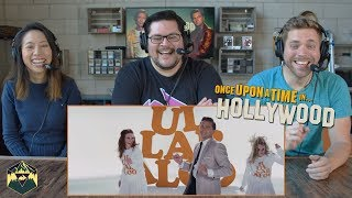 Once Upon A Time In Hollywood - Official Teaser Trailer Reaction