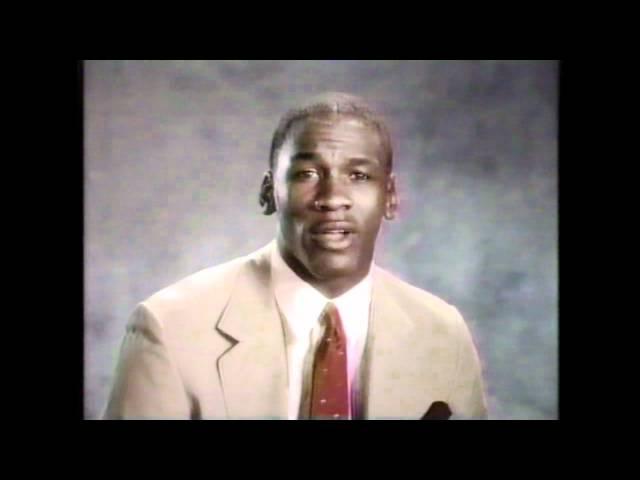 Michael Jordan Talks About Drugs - RARE PSA