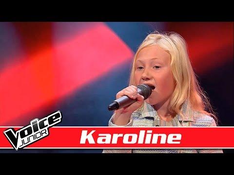 Karoline synger: Rasmus Seebach – 'Øde Ø' - Voice Junior / Blinds