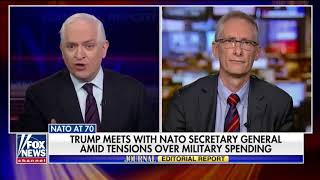 Trump pressures NATO to pay its fair share