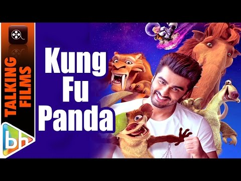 Arjun Kapoor EXCLUSIVE On Dubbing For Ice Age 5