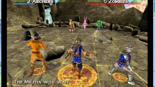 Heroes of M&M  Quest for the DragonBone Staff pcsx2
