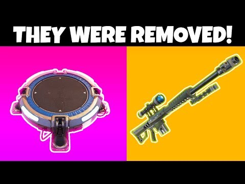 9 Things REMOVED From Fortnite CHAPTER 2
