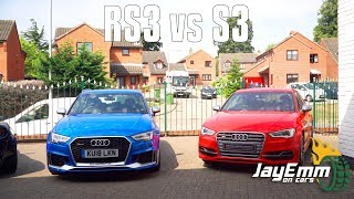 2018 Audi RS3 vs 2013 Audi S3 - Is there really a difference??