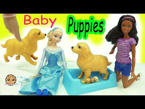 Xxx Mp4 Barbie Doll Dog Has Color Changing Newborn Puppies Surprise Blind Bags 3gp Sex