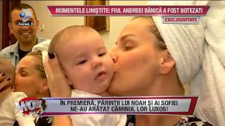 WOWBIZ (08.05.2017) - Imagini exclusive de la botezul fiului Andreei Banica